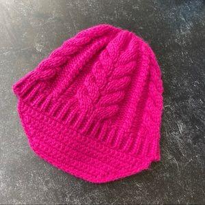 Merona Pink Knit Beanie